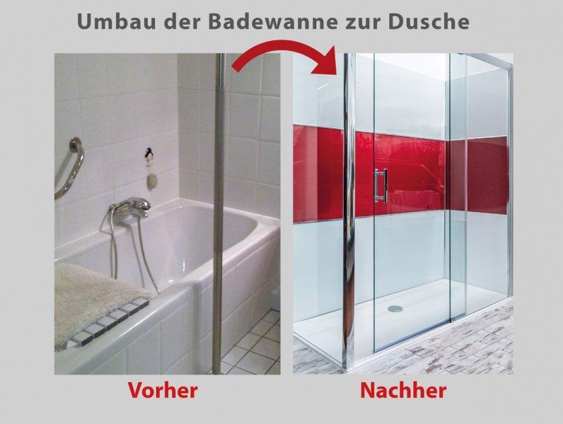 wanne zur dusche in nur 8 stunden badbarrierefrei leipzig. Black Bedroom Furniture Sets. Home Design Ideas