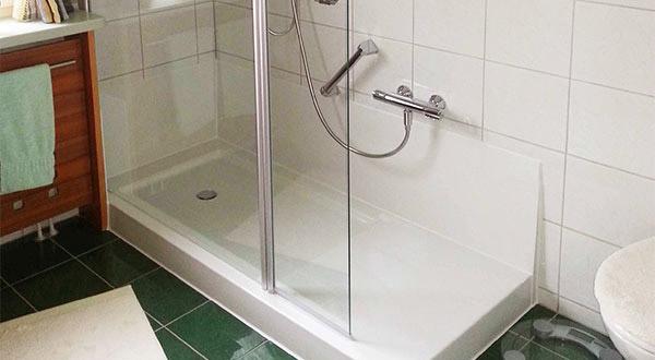 Tecnobad Umbau Wanne zu Dusche