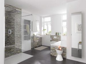 fugenlose wandverkleidung f r ihre bad oase. Black Bedroom Furniture Sets. Home Design Ideas